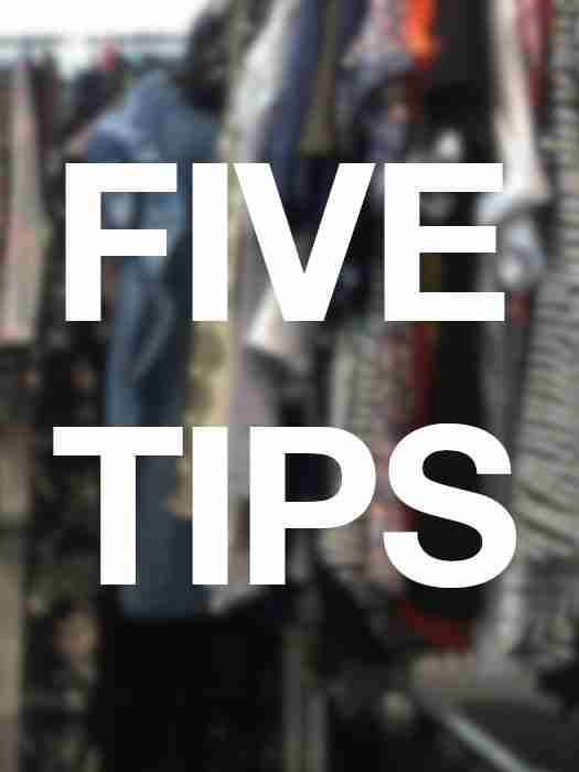 Five tips for a perfect fit