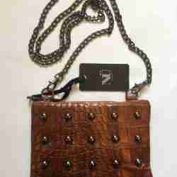 Nü handbag brown back