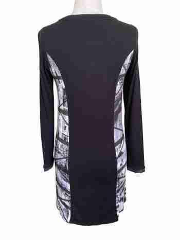 AndAmio Black dress back