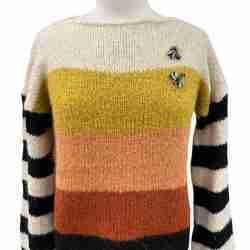 B.yu Striped Pullover Front