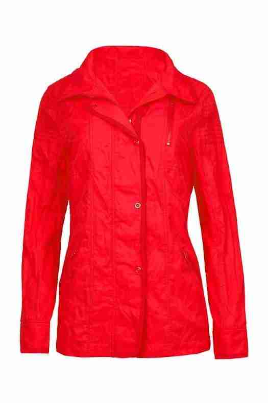 Verge red jacket